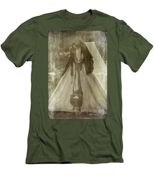 Bivouac Men's T-Shirt (Slim Fit) by Randall Cogle