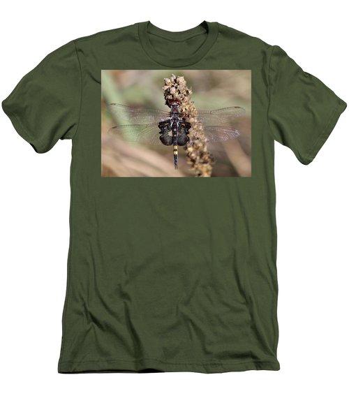 Black Saddlebags Men's T-Shirt (Athletic Fit)