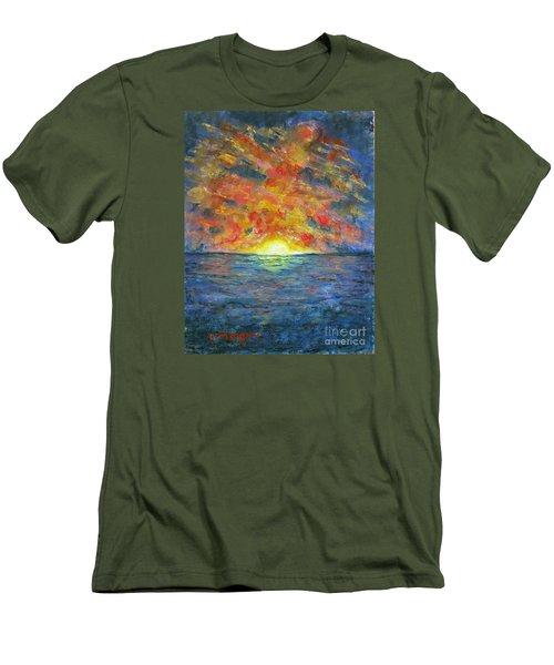 Blazing Glory Men's T-Shirt (Athletic Fit)