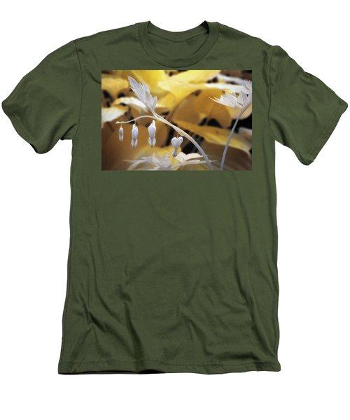 Bleeding Heart Gld Men's T-Shirt (Slim Fit) by Paul Seymour