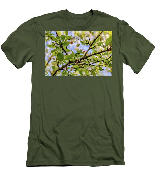 Blossoms And Leaves Men's T-Shirt (Athletic Fit)