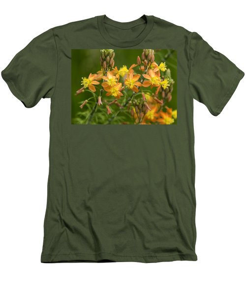 Blossoms Of Spring Men's T-Shirt (Slim Fit) by Stephen Anderson