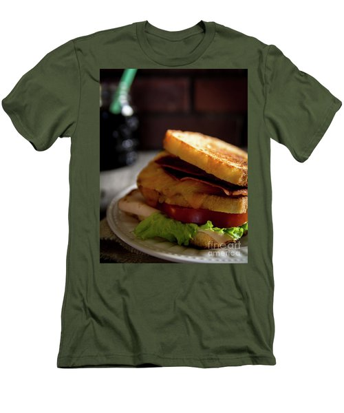 Men's T-Shirt (Slim Fit) featuring the photograph Blt Special by Deborah Klubertanz