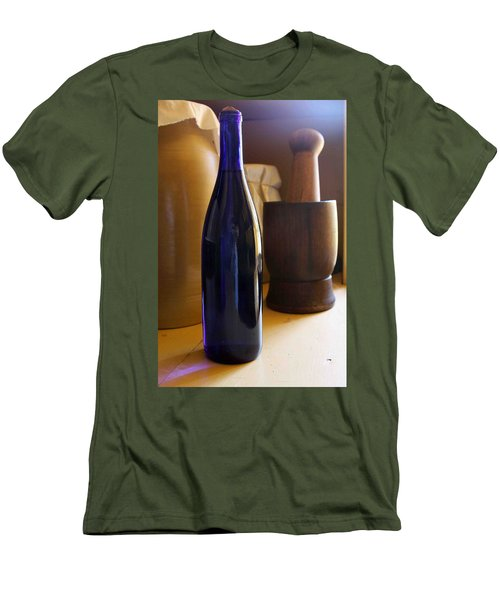 Blue Bottle And Mortar Men's T-Shirt (Athletic Fit)