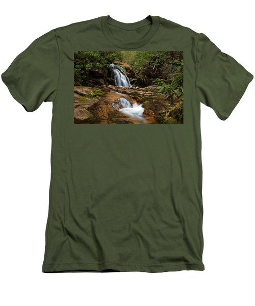 Blue Hole In Spring 2017 II Men's T-Shirt (Slim Fit) by Jeff Severson