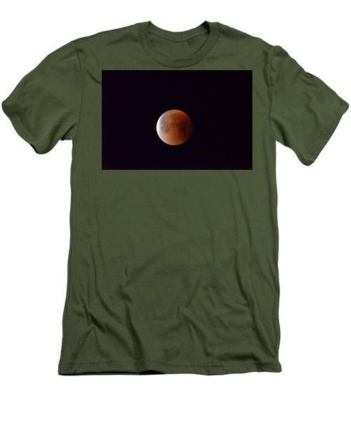 Blue Moon 1-31-18 Men's T-Shirt (Athletic Fit)