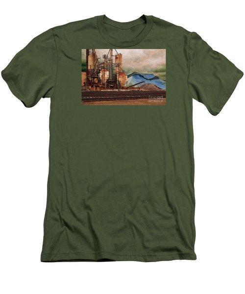 Blue Salt Men's T-Shirt (Slim Fit) by David Blank