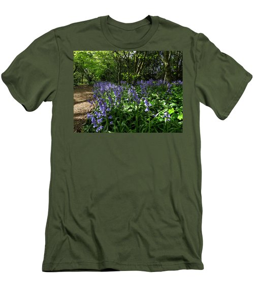 Bluebells3 Men's T-Shirt (Athletic Fit)