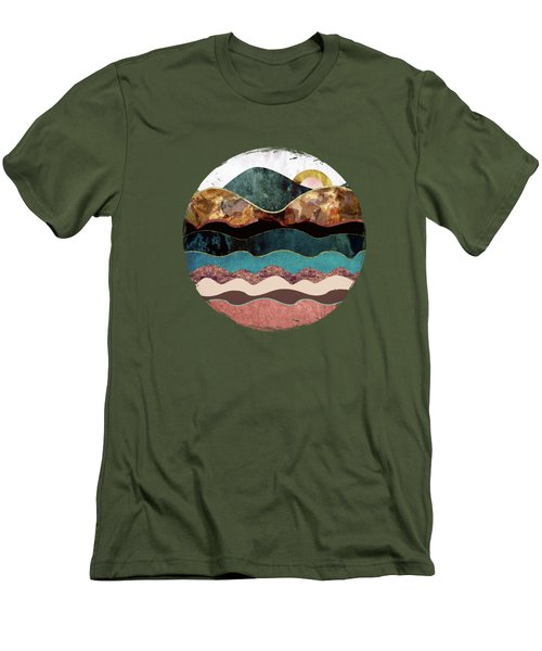 Blush Moon Men's T-Shirt (Slim Fit) by Katherine Smit
