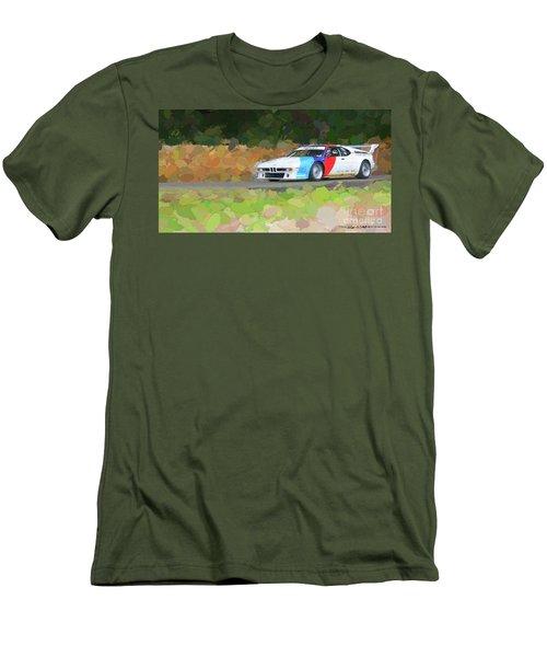 Bmw M1 Men's T-Shirt (Slim Fit) by Roger Lighterness