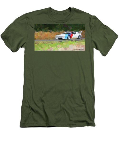 Bmw M1 Men's T-Shirt (Athletic Fit)