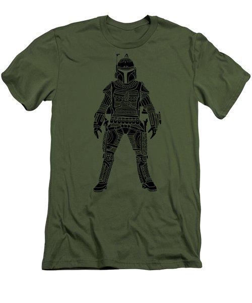 Boba Fett - Star Wars Art, Green Men's T-Shirt (Athletic Fit)