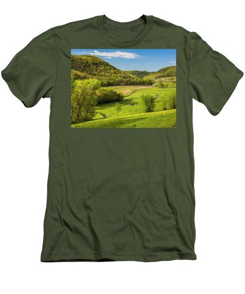Bohemian Valley Men's T-Shirt (Athletic Fit)