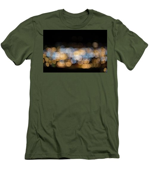 Men's T-Shirt (Athletic Fit) featuring the photograph Bokeh  by Jingjits Photography