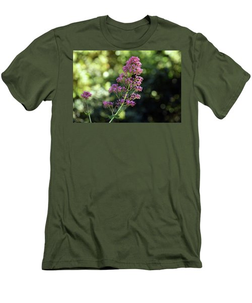 Bokeh Of Anacapri Flower Men's T-Shirt (Athletic Fit)