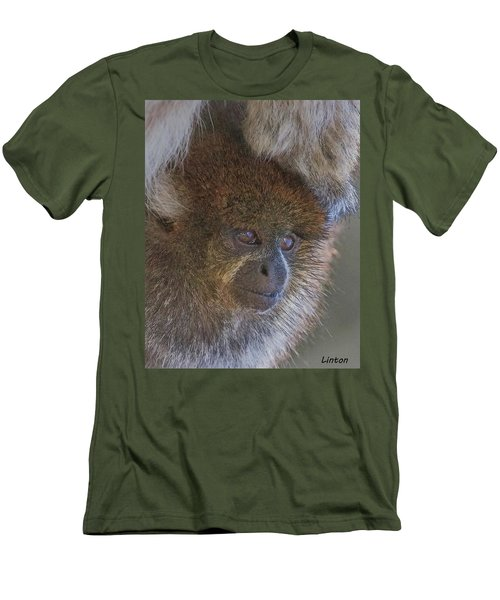 Bolivian Grey Titi Monkey Men's T-Shirt (Athletic Fit)
