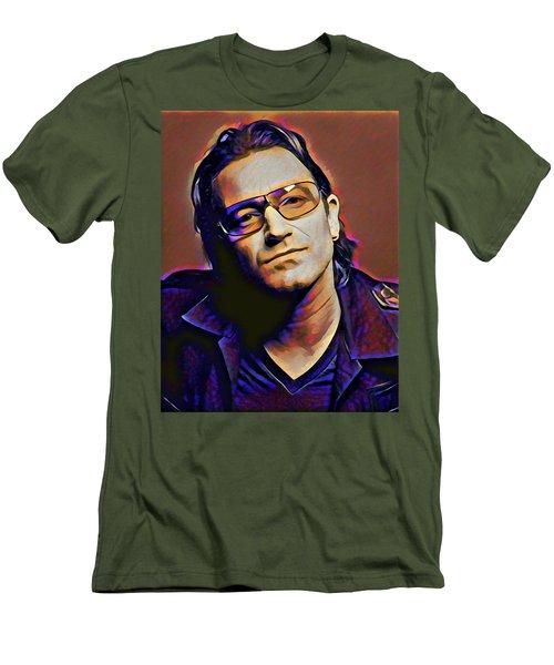 Bono Men's T-Shirt (Slim Fit) by Gary Grayson