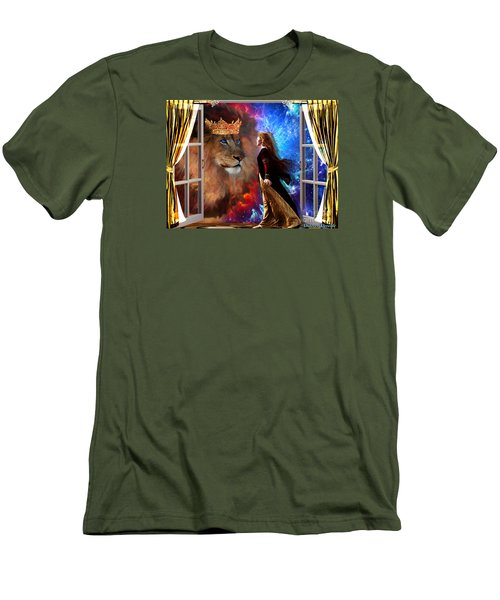 Born For Such A Time Men's T-Shirt (Slim Fit) by Dolores Develde