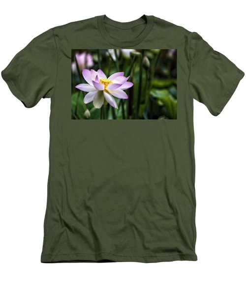 Men's T-Shirt (Slim Fit) featuring the photograph Born Of The Water Original by Edward Kreis