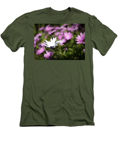 Men's T-Shirt (Athletic Fit) featuring the photograph Born To Stand Out by Lora Lee Chapman