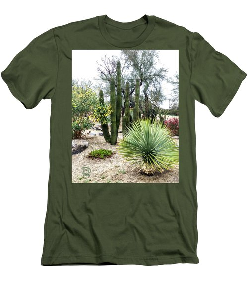Borrego Botanical Garden Men's T-Shirt (Athletic Fit)