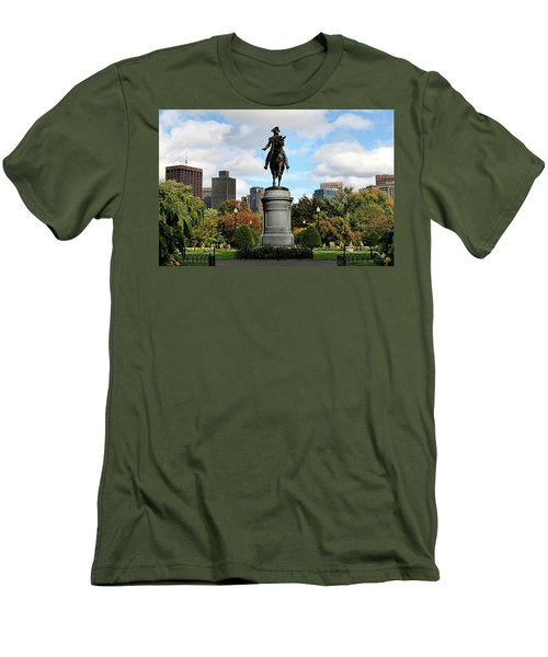 Boston Common Men's T-Shirt (Slim Fit) by DJ Florek