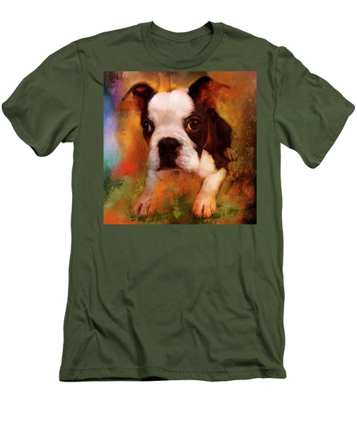 Boston Puppy Men's T-Shirt (Slim Fit)