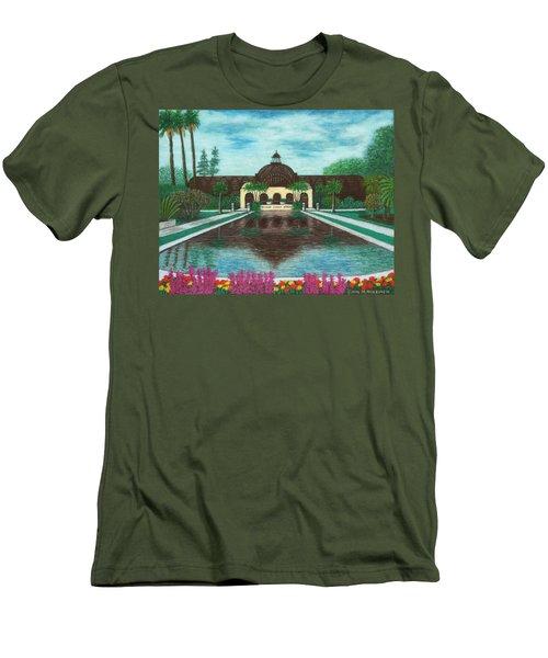 Botanical Building In Balboa Park 02 Men's T-Shirt (Athletic Fit)