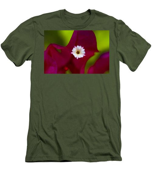 Bougainvillea Men's T-Shirt (Slim Fit) by Marlo Horne