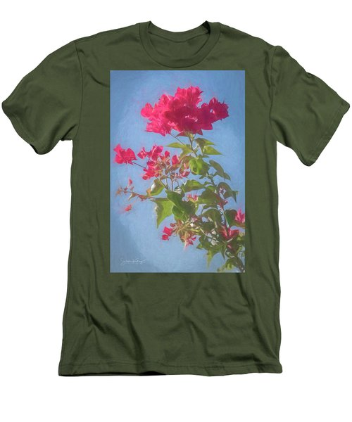 Bougainvillea Morning Men's T-Shirt (Athletic Fit)