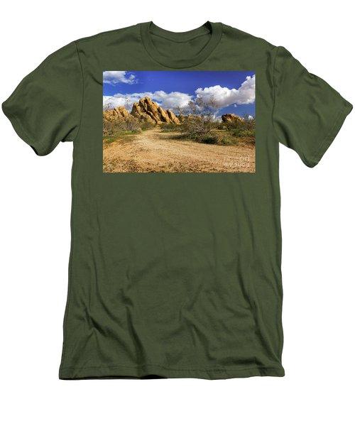 Boulders At Apple Valley Men's T-Shirt (Slim Fit)