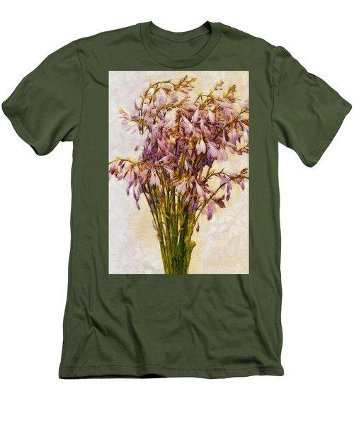 Bouquet Of Hostas Men's T-Shirt (Athletic Fit)