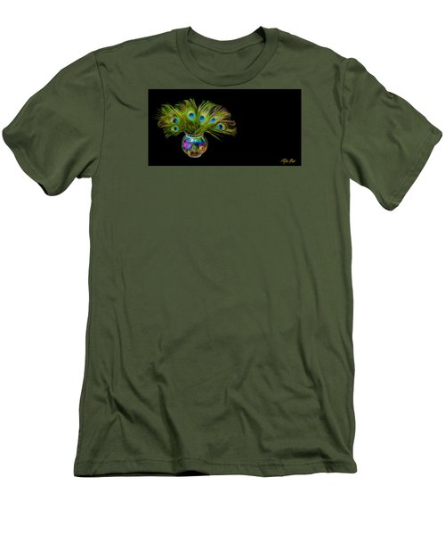Bouquet Of Peacock Men's T-Shirt (Slim Fit)