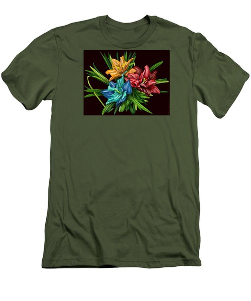 Bouquet#1 Men's T-Shirt (Athletic Fit)
