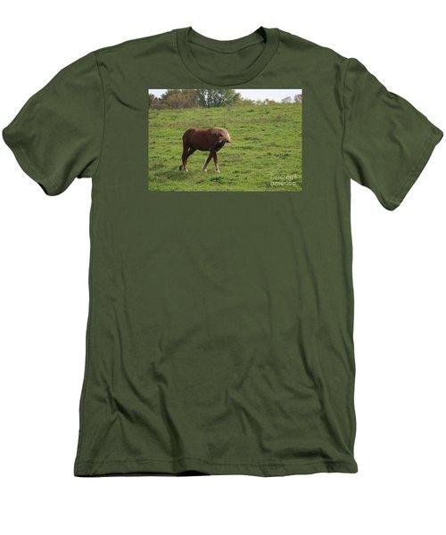 Bow  Men's T-Shirt (Slim Fit) by Yumi Johnson