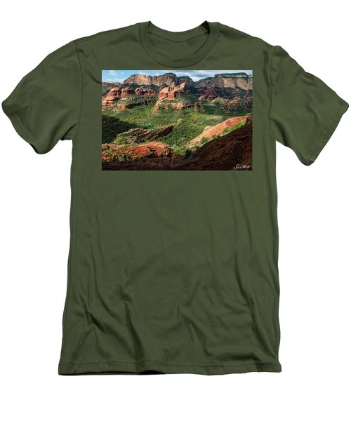 Boynton Canyon 05-942 Men's T-Shirt (Athletic Fit)