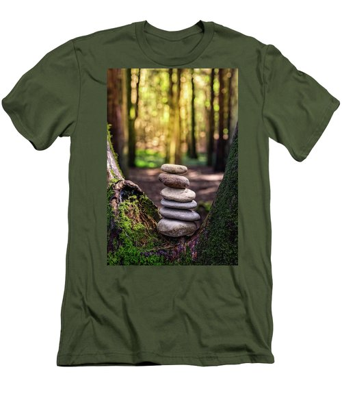 Men's T-Shirt (Slim Fit) featuring the photograph Brand New Day by Marco Oliveira