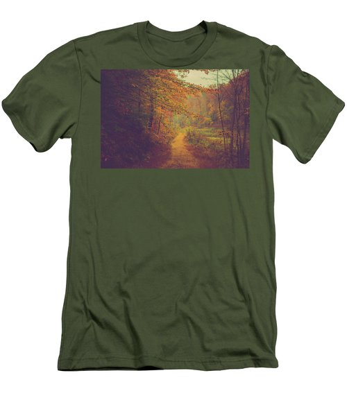 Men's T-Shirt (Slim Fit) featuring the photograph Breathe In Autumn by Shane Holsclaw