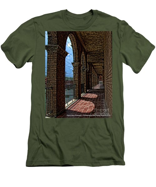 Breezway On The Baker Men's T-Shirt (Slim Fit) by Diana Mary Sharpton