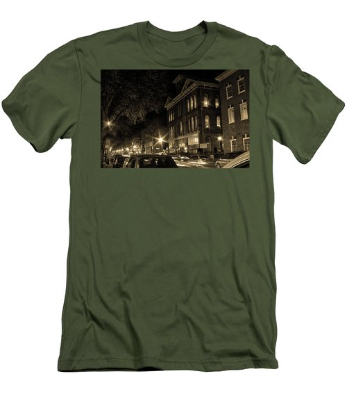 Men's T-Shirt (Slim Fit) featuring the photograph Market Street by Robert Geary