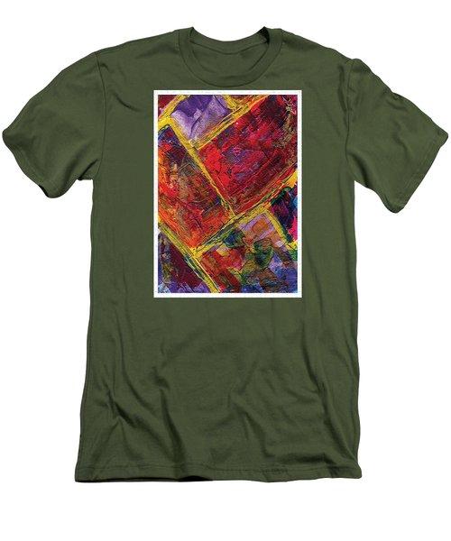 Brick  Men's T-Shirt (Athletic Fit)
