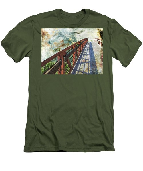 Bridge Over Clouds Men's T-Shirt (Athletic Fit)