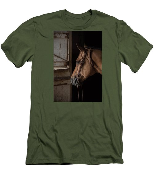Bridled Men's T-Shirt (Athletic Fit)