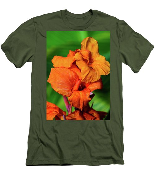 Bright Orange  Men's T-Shirt (Athletic Fit)