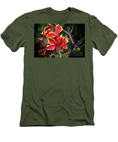 Men's T-Shirt (Slim Fit) featuring the photograph Bright Spot In My Day by Mary Machare
