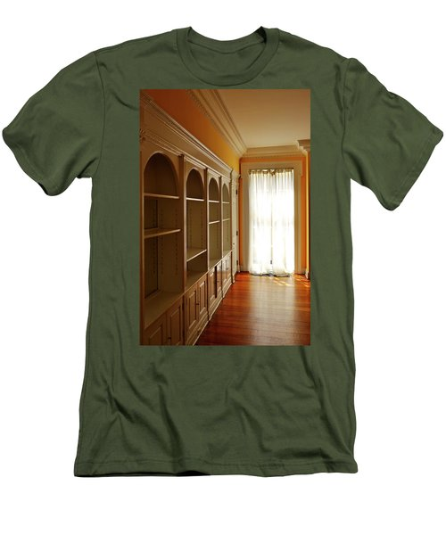 Bright Window Men's T-Shirt (Slim Fit) by Zawhaus Photography