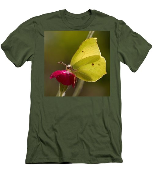 Men's T-Shirt (Slim Fit) featuring the photograph Brimstone 2 by Jouko Lehto