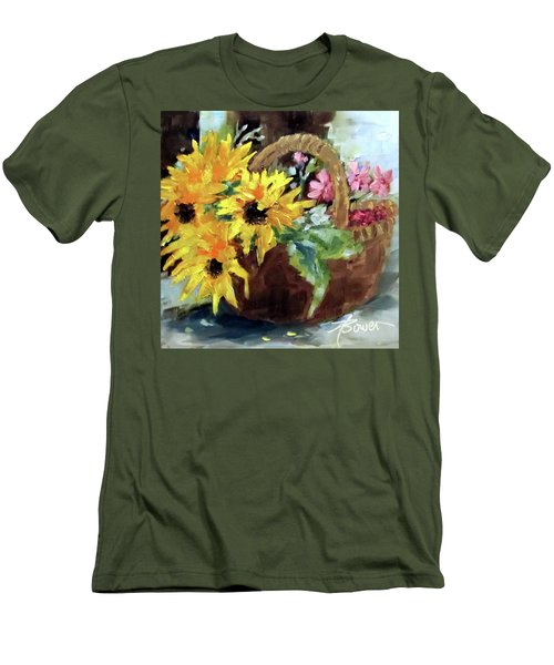 Bringing In The Sunshine  Men's T-Shirt (Athletic Fit)