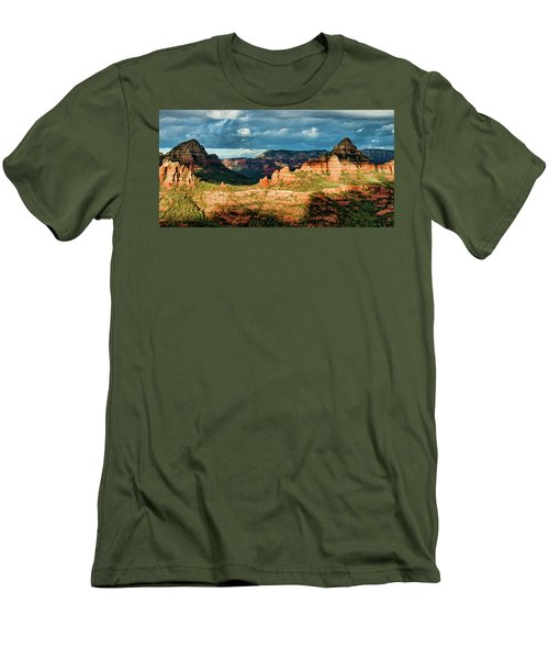 Brins Ridge 04-044pan N Men's T-Shirt (Athletic Fit)