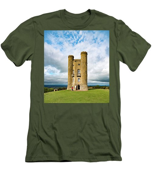 Broadway Tower Men's T-Shirt (Athletic Fit)